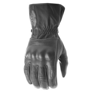Highway 21 Hook Leather Motorcycle Gloves
