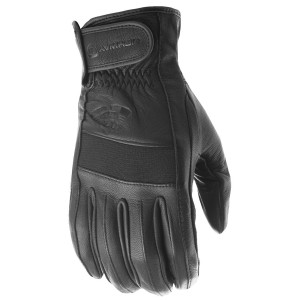 Highway 21 Jab Touch Screen Leather Motorcycle Gloves