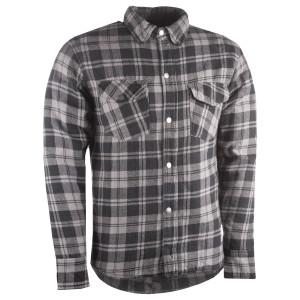Highway 21 Marksman Riding Flannel Shirt - Black/Grey