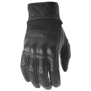 Highway 21 Revolver Leather Motorcycle Gloves