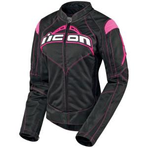Icon Women's Black Contra Jacket (NIOP)