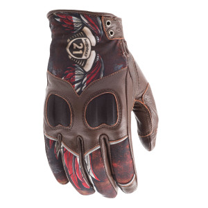 Highway 21 Women's Vixen Liberty Motorcycle Gloves
