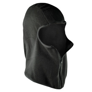 Zan Headgear Fleece Balaclava Face Mask with Zipper