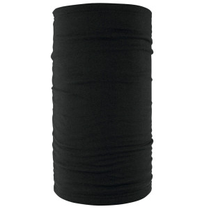Zan Headgear Black Fleece-Lined Motley Tube