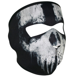 Zan Headgear Ghost Skull Face Mask