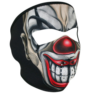 Zan Headgear Chicano Clown Face Mask