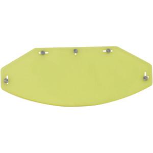 AFX Vintage 5 Snap Flat Shield / Yellow