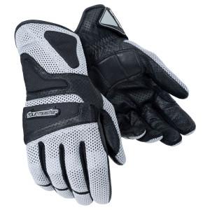 Tour Master Intake Air Mesh Gloves - Silver