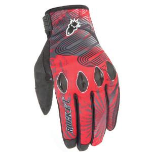 Joe Rocket Rocket Nation 2.0 Gloves - Red