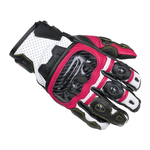 Cortech Women's Apex V1 ST Gloves-Ruby