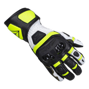 Cortech Chicane V1 RR Gloves-Black/Hi-Viz