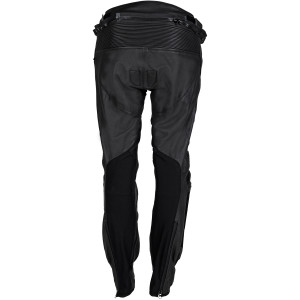 Cortech Women's Apex V1 Leather Motorcycle Pants-Black