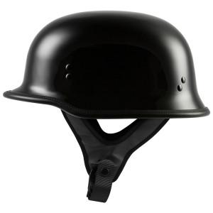 Highway 21 9MM German Beanie Helmet - Black