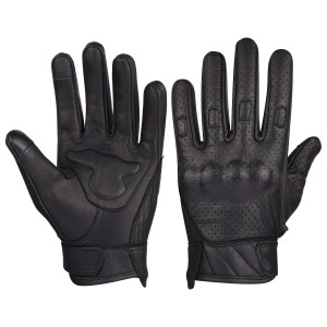 Vance VL412 Mens Premium Leather Perforated Cruiser Gloves