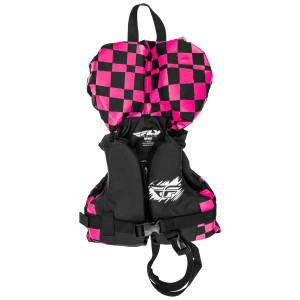 Fly Infant Nylon Vest - Pink