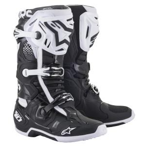 Alpinestars Tech 10 2020 Boots-Black/White