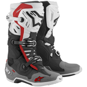 Alpinestars Tech 10 Supervented Boots-Black/White