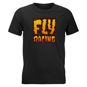 Fly Youth Fire Tee - Black