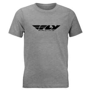 Fly Youth Corporate Tee - Grey