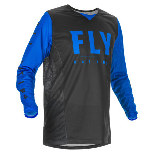 Fly Youth Kinetic Mesh Jersey - Black/Blue