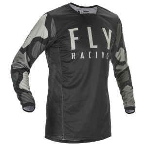 Fly Kinetic K221 Jersey - Black/Grey