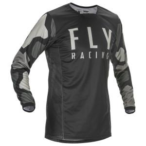 Fly Youth Kinetic K221 Jersey - Black/Grey