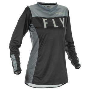 Fly Women's Lite Jersey - Black/Grey