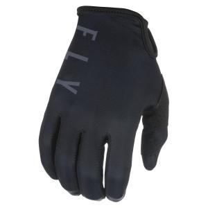 Fly Youth Lite Gloves - Black/Grey