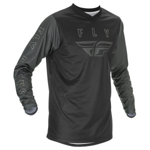 Fly 2020 Youth F-16 Jersey - Black/Grey