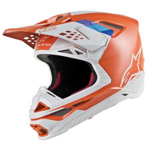 Alpinestars Supertech M8 Contact Helmet-Orange
