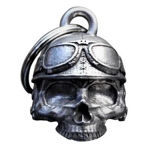Bravo Bells Motorcycle Helmet Skull 3D Bell