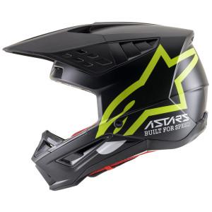 Alpinestars M5 Compass Helmet-Black/Yellow