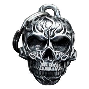 Bravo Bells Flame Skull 3D Bell