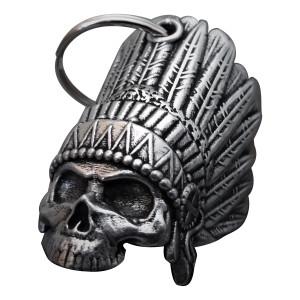 Bravo Bells Indian Skull 3D Bell