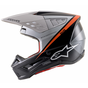 Alpinestars M5 Rayon Helmet-Black/White