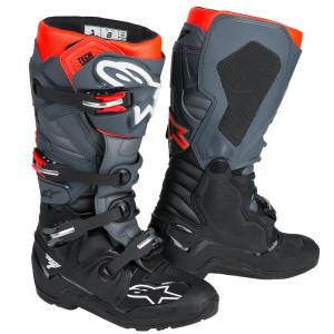 Alpinestars Tech 7 Enduro Boots-Black/Grey