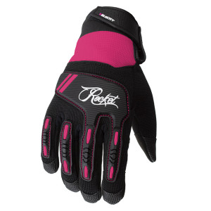 Joe Rocket Women's Velocity 3.0 Motorcycle Gloves - Pink
