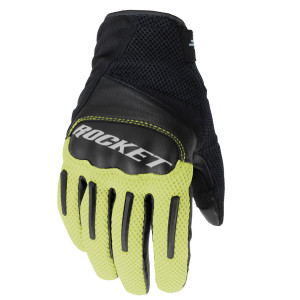 Joe Rocket Optic Motorcycle Gloves - Black/Hi-Viz