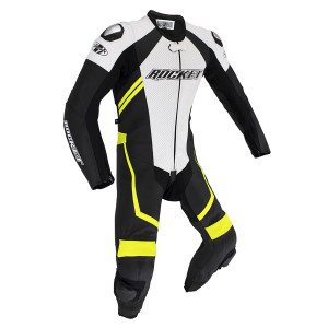 Joe Rocket Speedmaster 7.0 1-Piece Suits - Black White