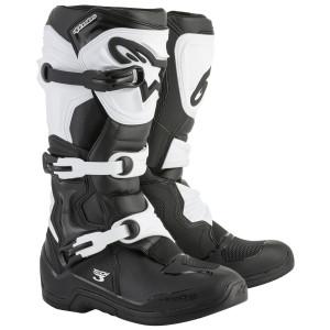 Alpinestars Tech 3 Boots-Black/White
