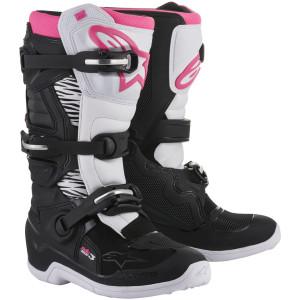 Alpinestars Stella Tech 3 Boots-Black/Pink