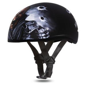 Daytona Skull Cap Come Get'EM Half Helmet