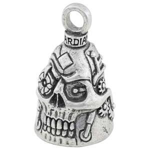 Biker Motorcycle Bells Guardian Bell Steampunk Skull