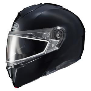 HJC i90 Modular Snow Helmet With Dual Lens Shield - Black