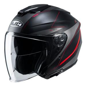 HJC i30 Slight Helmet - Black/Red