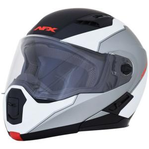 AFX FX-111 Voyage Modular Helmet-Black/White