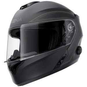 Sena Outrush Modular Helmet-Matte Black