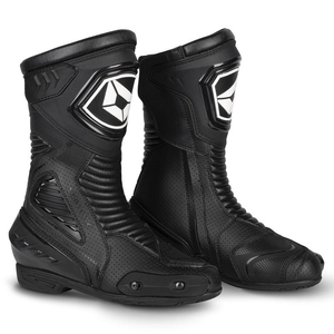 Cortech Women's Apex RR Air Boots-Black