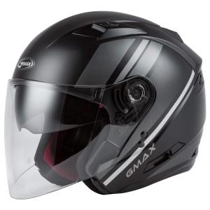 GMax OF77 Reform Helmet-Black/Silver