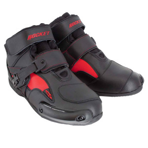 Joe Rocket Sector Motorcycle Riding Boots - Black/Red